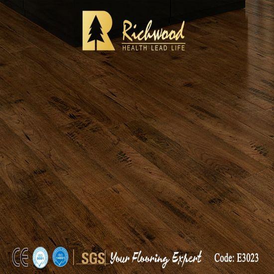 Vinyl Plank Parquet E0 Hd Maple Wooden Laminated Laminate Wood Flooring