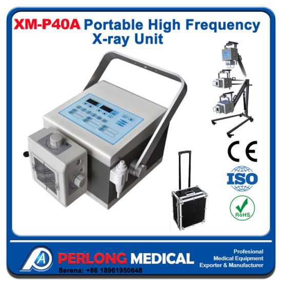 Xm-P40A Medical High Frequency Portable X-ray Human/Vet Available pictures & photos