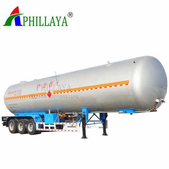 Delivery Gas Storage LPG Tank Semi Trailer (03) pictures & photos