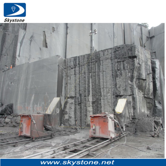 China Quarry Stone Cutting Diamond Wire Saw Machine for Granite ...