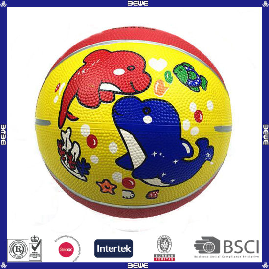 Made in China Hotsale Rubber Basketball for Children pictures & photos