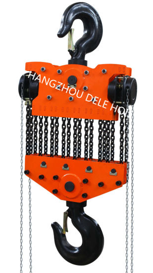 Df 2ton Hand Chain Block Hoist pictures & photos