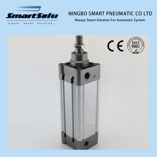 Ce Certification DNC Double Acting ISO6431 Standard Pneumatic Cylinder