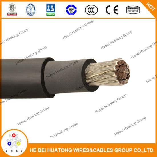 TUV UL Approved PV1-F Solar PV Cable (1X4.0mm2) Solar Cable, Photovoltaic Wire pictures & photos