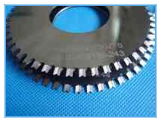 Tungsten Carbide V-Cutting Dis Cutter Saw Blade pictures & photos