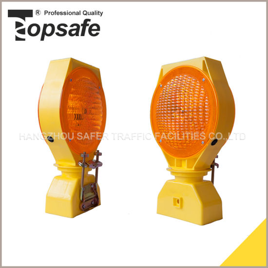 Ksa Style LED Solar Road Traffic Warning Light with Ce (S-1324A)