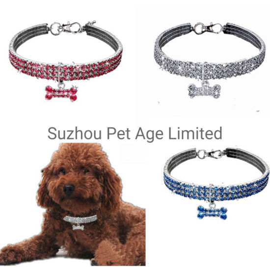 Dog Decoration Diamond Cat Collar Necklace Products Pet Accessories