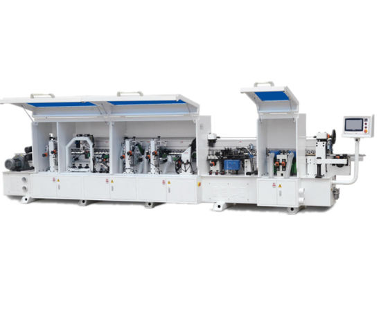 Edge Banding Machinery with Corner Rounding and Double Trimming Function