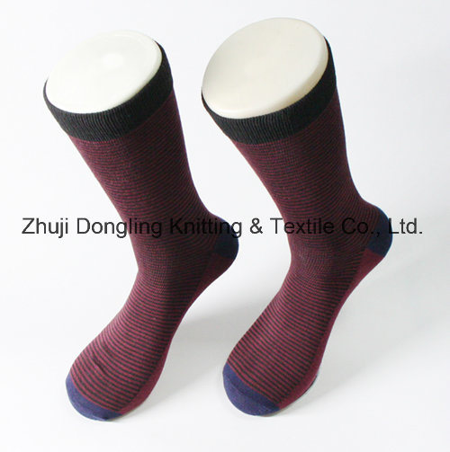 Hot Sales Man Sock 100% Cotton Socks pictures & photos