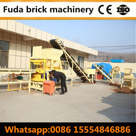 Compressed Earth Lego Interlocking Brick Block Making Machine Uz pictures & photos