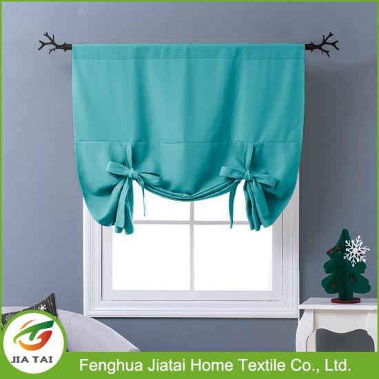 Blue Small Window Curtains Discount Unique Kitchen Curtains ...