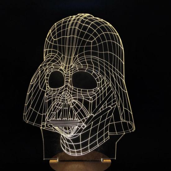 Acrylic Engrave Skull Gift Birthday Gift