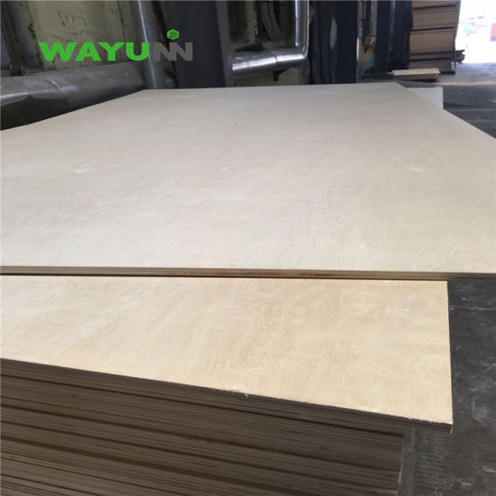 UV Birch Fancy Plywood MDF Board for Furniture