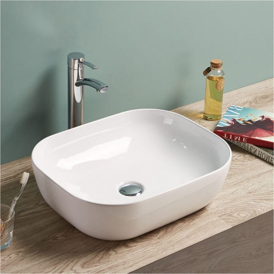 Hot Selling European Design Thin Edge Art Basin/Bathroom Sink pictures & photos