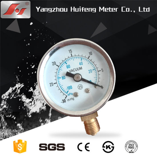 Stainless Steel Tube Digital Pressure Meter for RO Water Purifier pictures & photos
