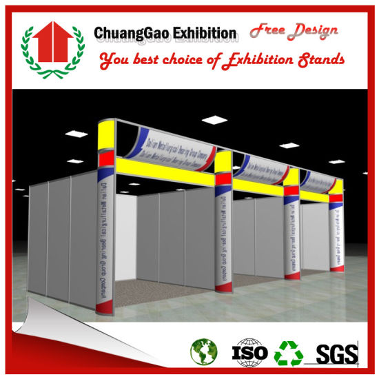 Exhibition Stand for 3*3*4m Modular Exhibition Display Booth pictures & photos
