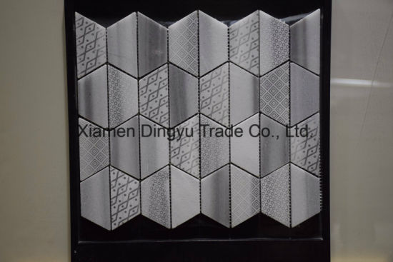Decoration Material Wall Tile Glass Mosaic for Interior