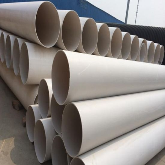 Chinese Supplier PVC Tube Plastic Drain Irrigation PVC Water Pipe