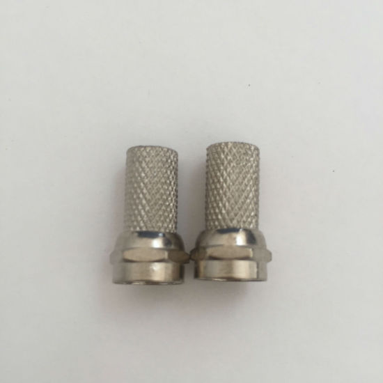 RF Connector, F Male Twist on Rg58/Rg59/RG6 pictures & photos