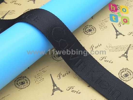 Jacquard Nylon Polyester Cotton Webbing for Bag Accessories pictures & photos