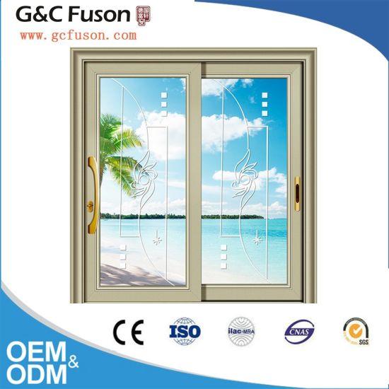G&C Fuson Aluminum Sliding Door for Bathroom