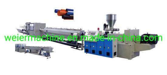 PVC Conduits Pipe/Water Supply Pipe Extrusion Machine Line/PVC Water Drainage Pipe Production Machinery Line