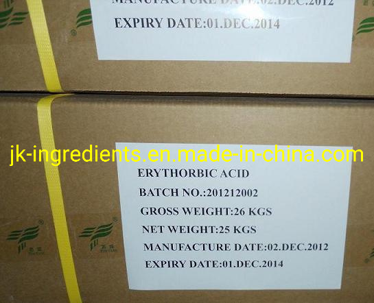 Erythorbic Acid CAS. No. 89-65-6 ISO-Ascorbic Acid E315 Isoascorbic Acid