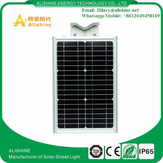 New 20W Garden Solar Light Wall Lamp with PIR Sensor pictures & photos