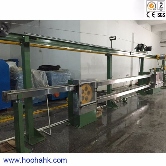 Physical Foaming Coaxial Cable Extrusion Machine for FM-PE PE pictures & photos