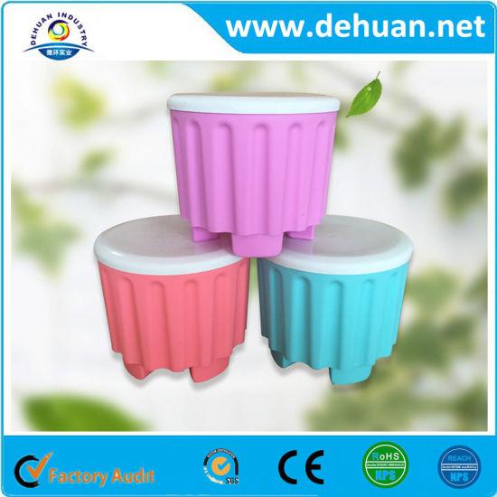 China Wholesale MultiFunctional Stool Shape Custom Made Decorative Enchanting Decorative Plastic Storage Boxes