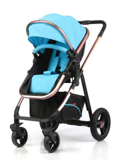3 in 1 New Model Aluminum Frame Baby Stroller with En1888 Test pictures & photos