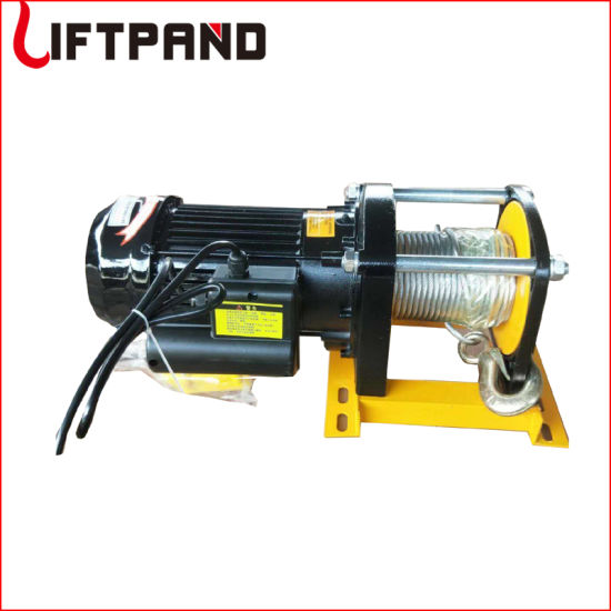 Lifting Equipment Capstan Cable Electric Capacity