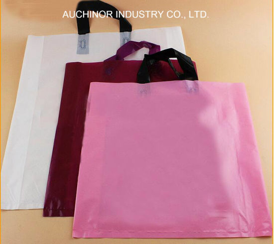 Factory Make Plastic Shopping Handle Bag Plastic Bag pictures & photos