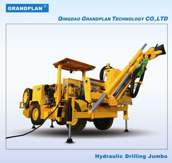China Underground Drilling Jumbo for Fan Hole Drilling