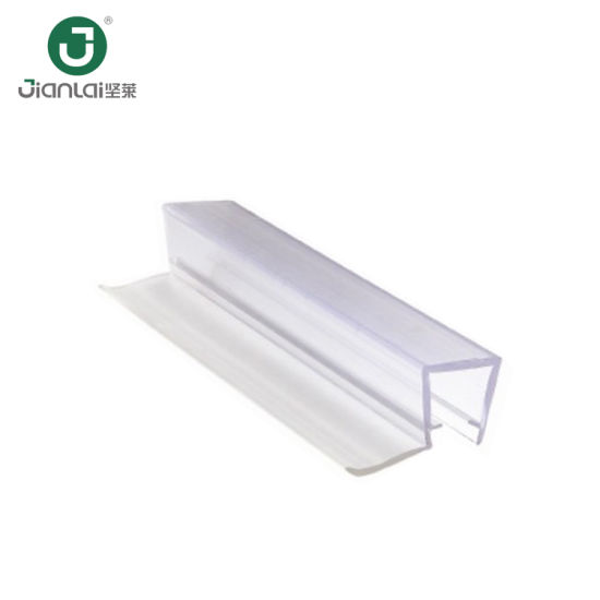 Competitive Price Shower PVC Wipes Glass Door Rubber Seal Strip