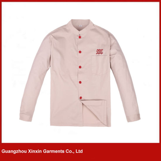 Custom Made Cheap Chef Workwear Uniform Clothes for Working Garments (W283)