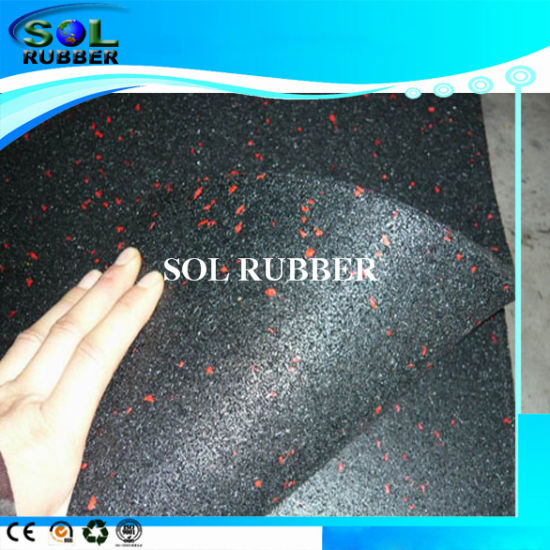 High Quality Fire Resistance Crossfit Gym Floor Rubber Mat pictures & photos