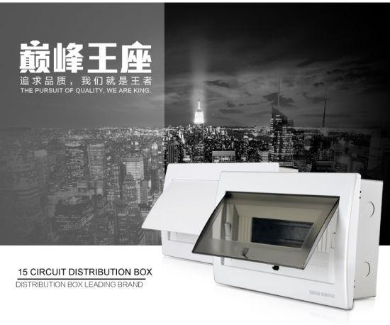 Circuit Breaker Box Distribution Consumer Units MCB Distribution Box