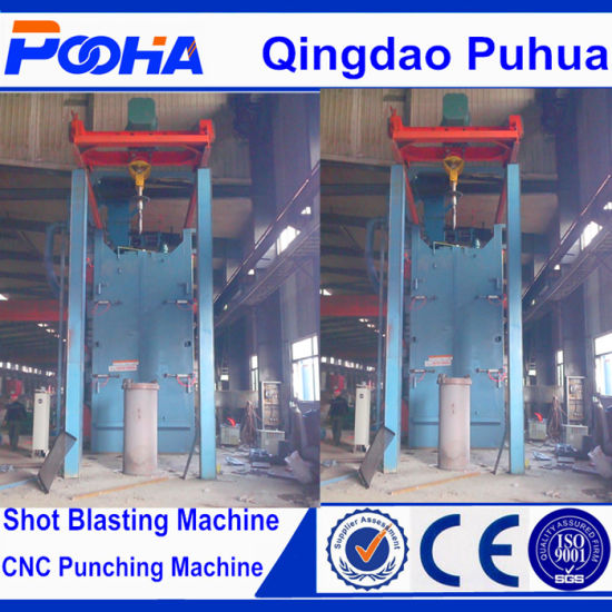 Gas Cylinder Shot Blasting Machine pictures & photos