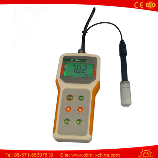 Food Cheese Dough pH Meter for Milk Portable pH Meter pictures & photos