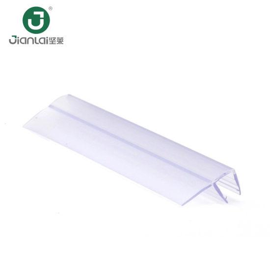 Environmental Shower Glass Door Rubber Seal/ PVC Strip