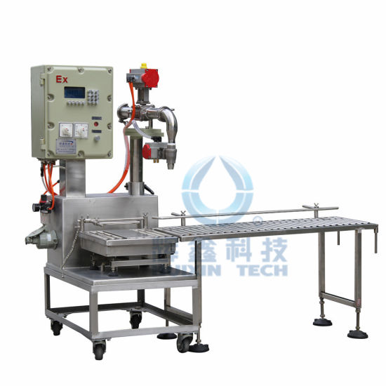Top Quality Automatic Oil Filling Machine for Ink/Lubricants/Pesticide pictures & photos