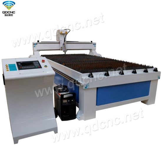 CNC Plasma Cutting Machine with Sawtooth Worktable for Steel/Iron Qd-1530