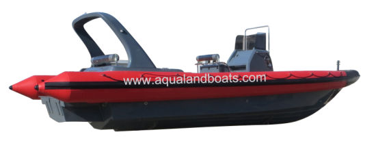 Aqualand 35feet 10.5m Rib Patrol Boat/Military Rigid Inflatable Boat (RIB1050) pictures & photos