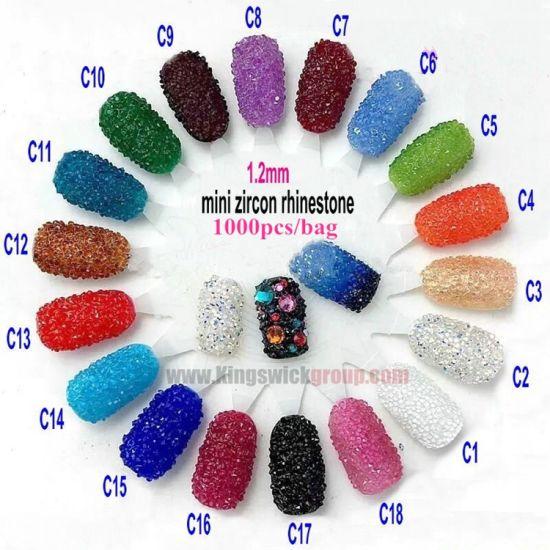 China 2017 Wholesale Tiny Nail Rhinestones Crystal Pixie Bulk ...