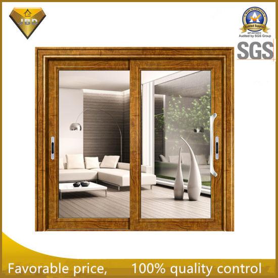 Foshan Aluminium Sliding Door With Mosquito Net Factory