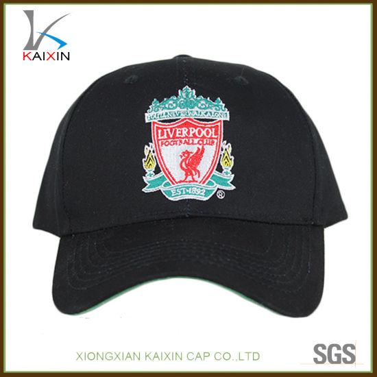 China Custom Embroidery 6 Panel Cotton Baseball Hats Cap - China ... ac1536afdc5c