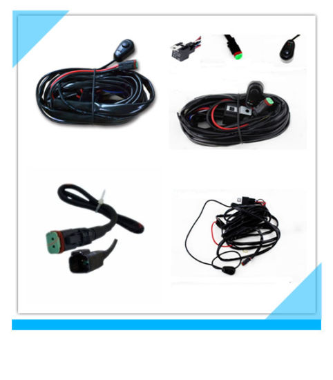 China 40 AMP LED Light Bar Wiring Harness with Relay Switch ... on light bars for trucks, light bar headlights, light switch battery wiring, light bar control box, light bar 24 in, light bar cover, light bar bumper, light bar on 4 wheeler, light bar bracket, light bar switch harness, light bar battery, light bar bulbs, light bar windshield, light bar switches, light bar lights, light bar wiring labels,