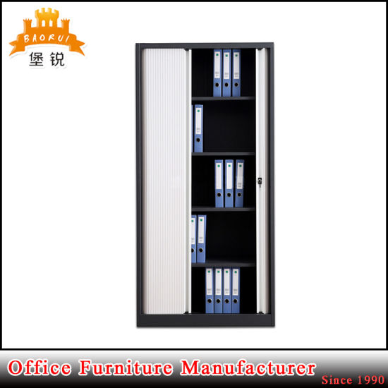 Office Use Customized Metal Tambour Door Filing Cabinet with Low Price pictures & photos