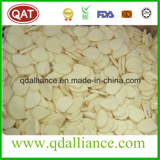 IQF Frozen Sliced Garlic